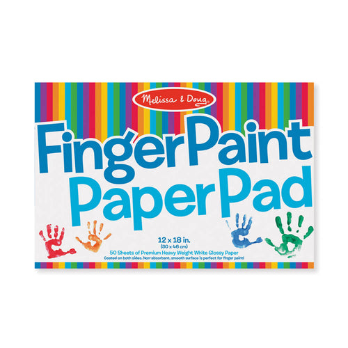 Melissa and Doug Finger Paint Paper Pad