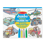 Melissa and Doug Jumbo Colouring in Pad Vehicles