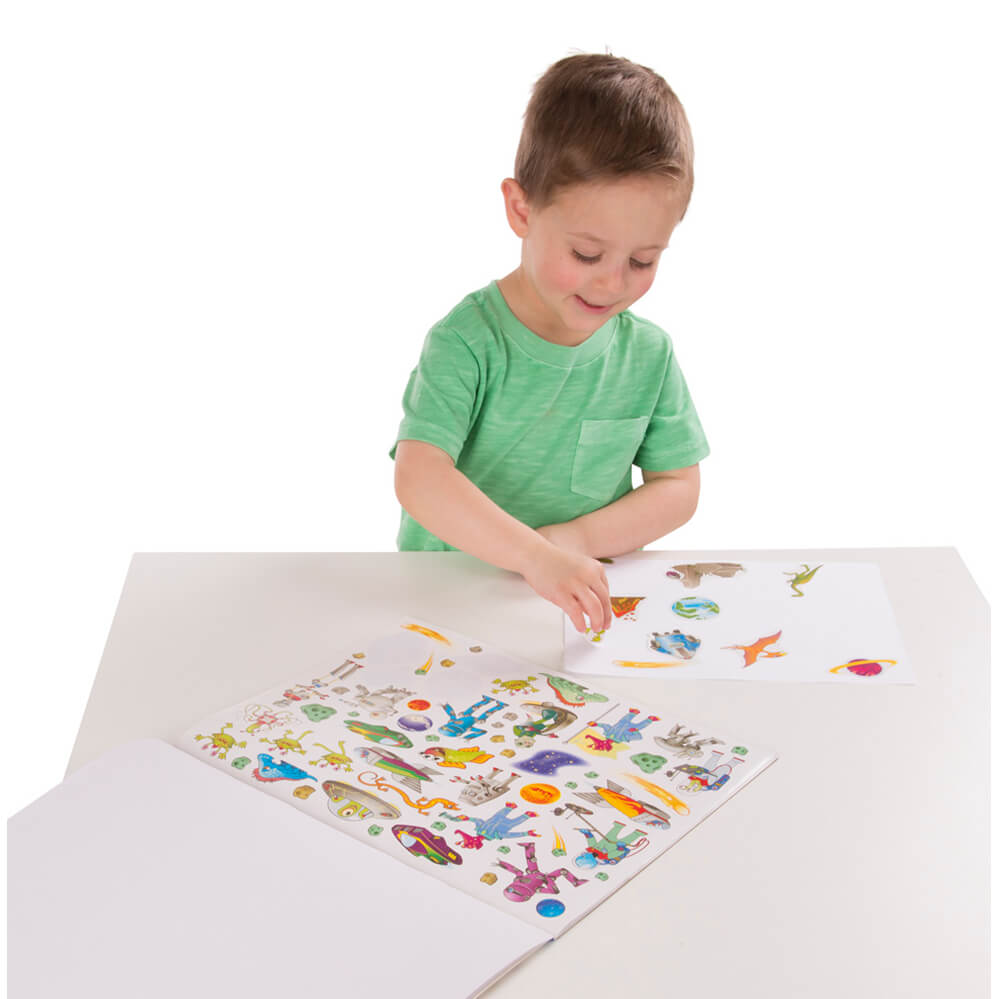 Melissa and Doug Sticker Collection Blue