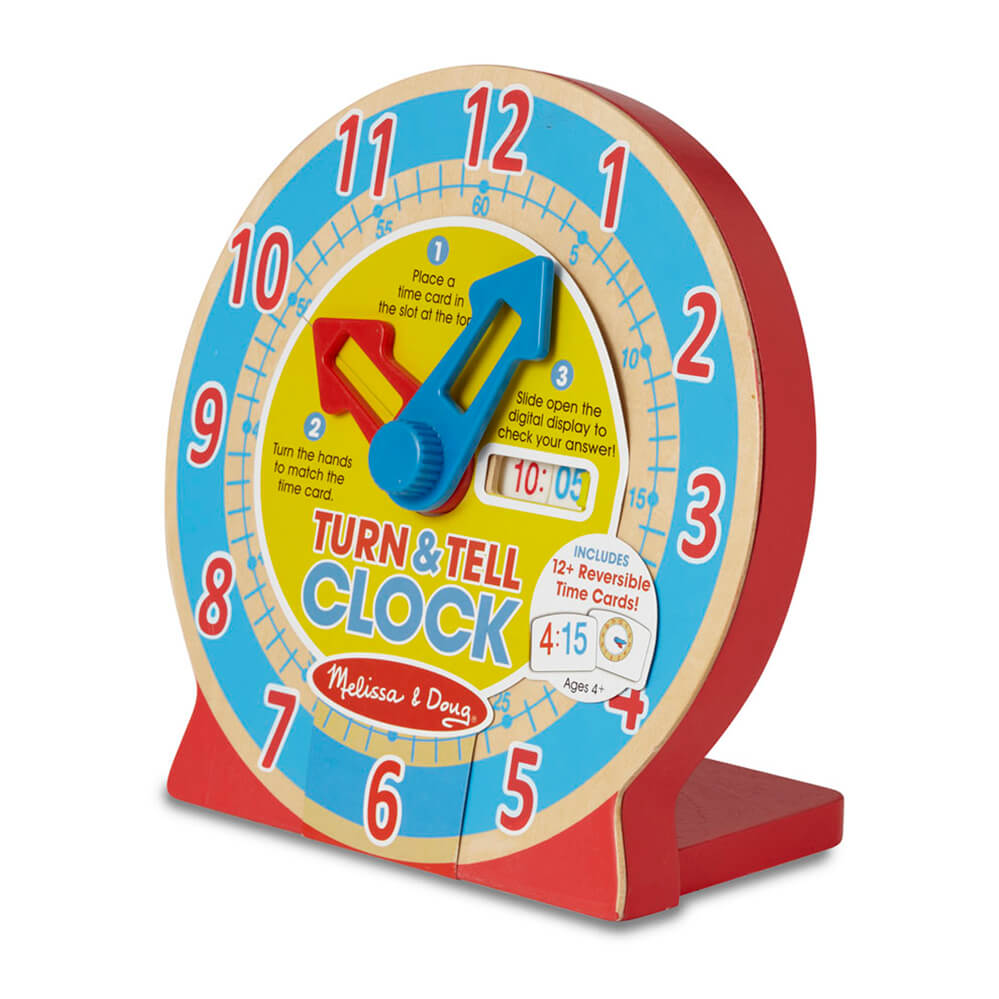 Melissa and Doug Turn & Tell Clock