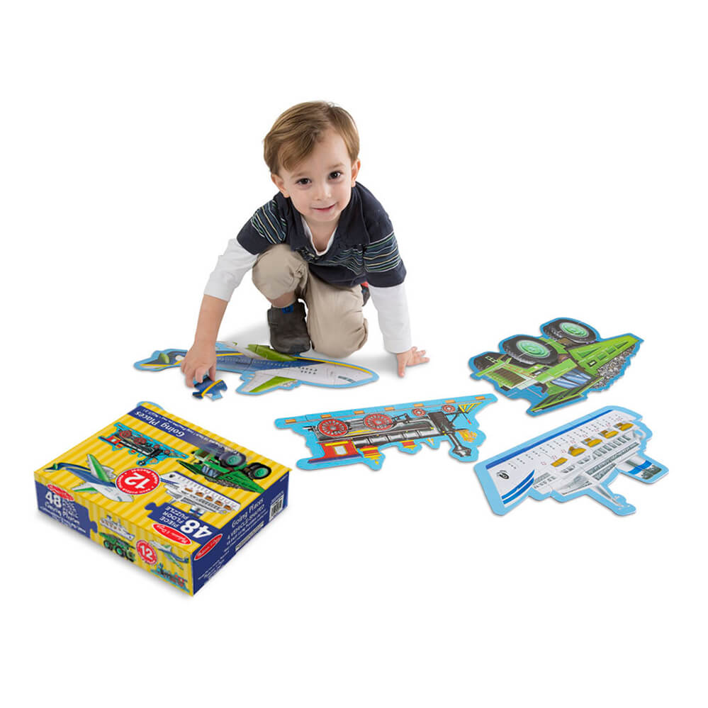 Melissa and Doug Going Places 48pc Floor Puzzle