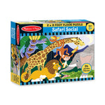 Melissa and Doug Safari Social 24pc Floor Puzzle