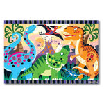 Melissa and Doug Dinosaur Dawn 24pc Floor Puzzle