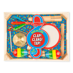 Melissa and Doug Band in a Box Clap! Clang! Tap!