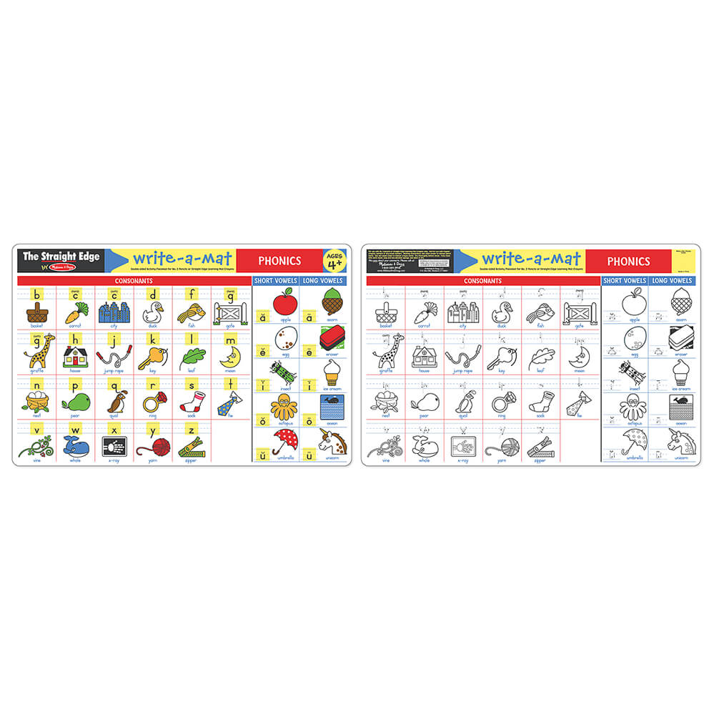 Melissa and Doug Phonics Learning Mat