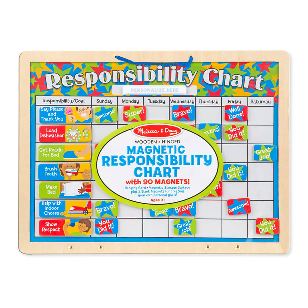 Melissa and Doug Magnetic Responsibility Chart