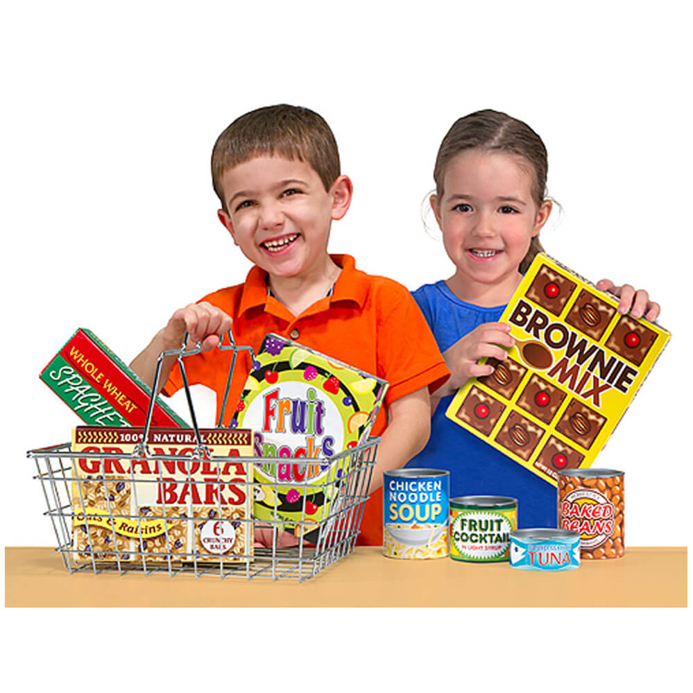 Melissa and Doug Grocery Basket