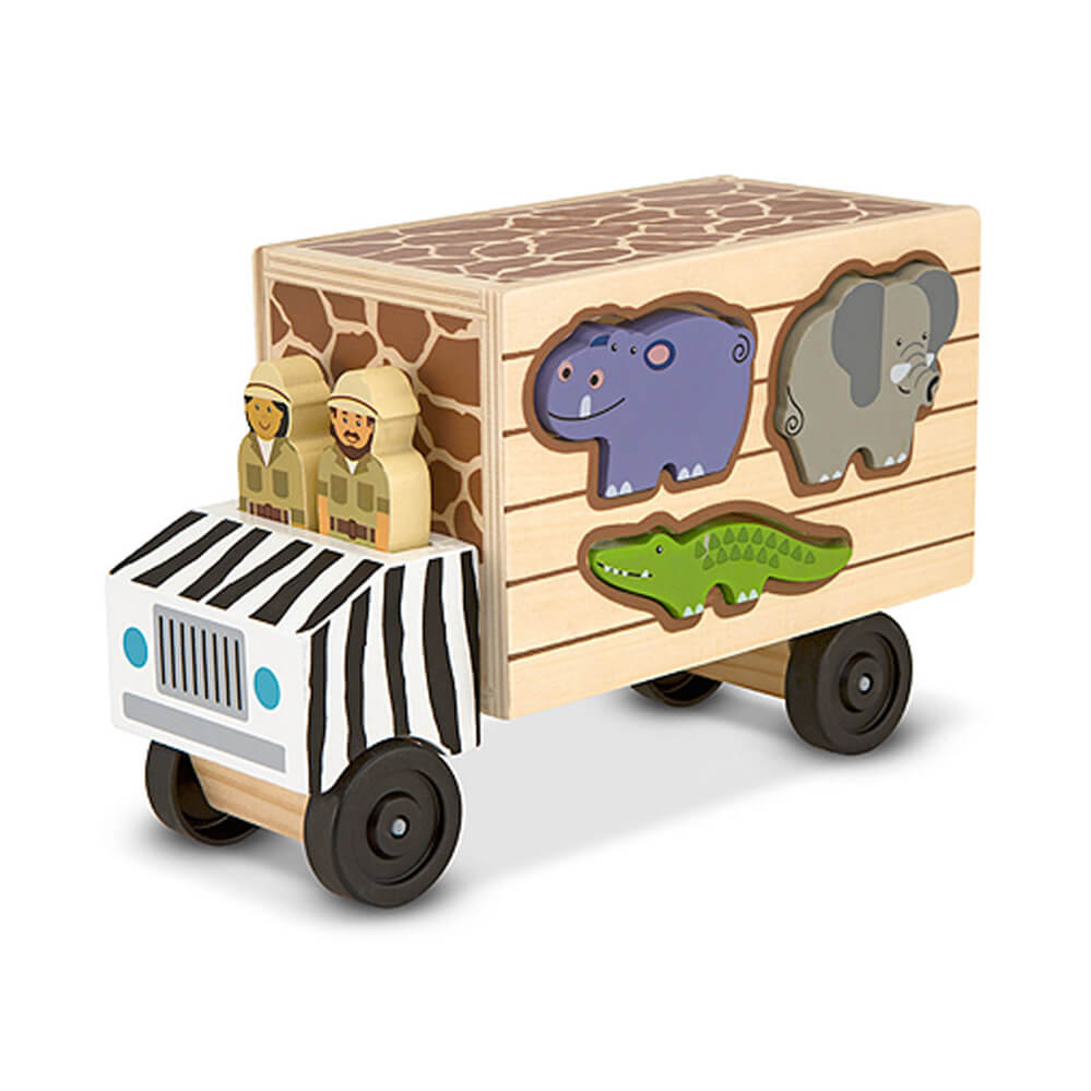 Melissa and Doug Animal Rescue Shape Sorting Truck