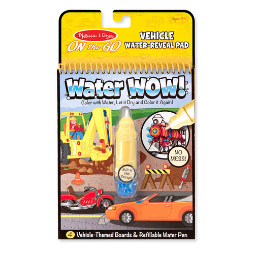 Melissa and Doug Water Wow Vehicles