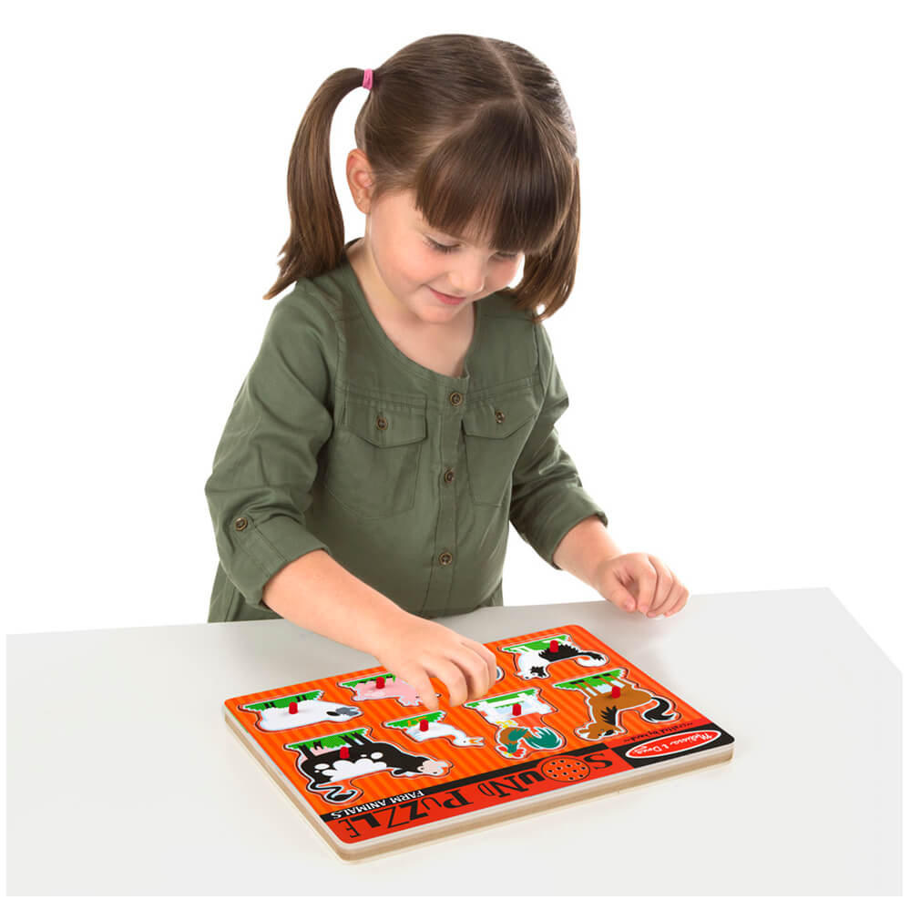 Melissa and Doug Farm Animals Sound Puzzle