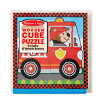 Melissa and Doug Vehicles Cube Puzzle