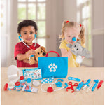 Melissa and Doug Examine & Treat Pet Vet Play Set