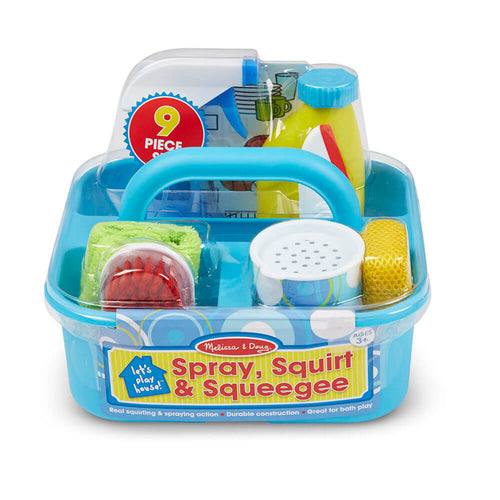 Melissa and Doug Spray, Squirt & Squeege Set