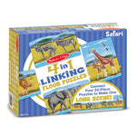 Melissa and Doug Safari Linking 96pc Floor Puzzle