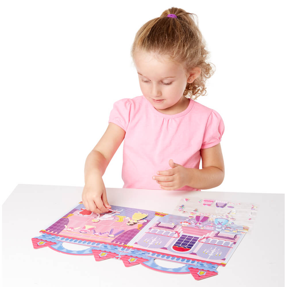 Melissa and Doug Puffy Stickers Princess