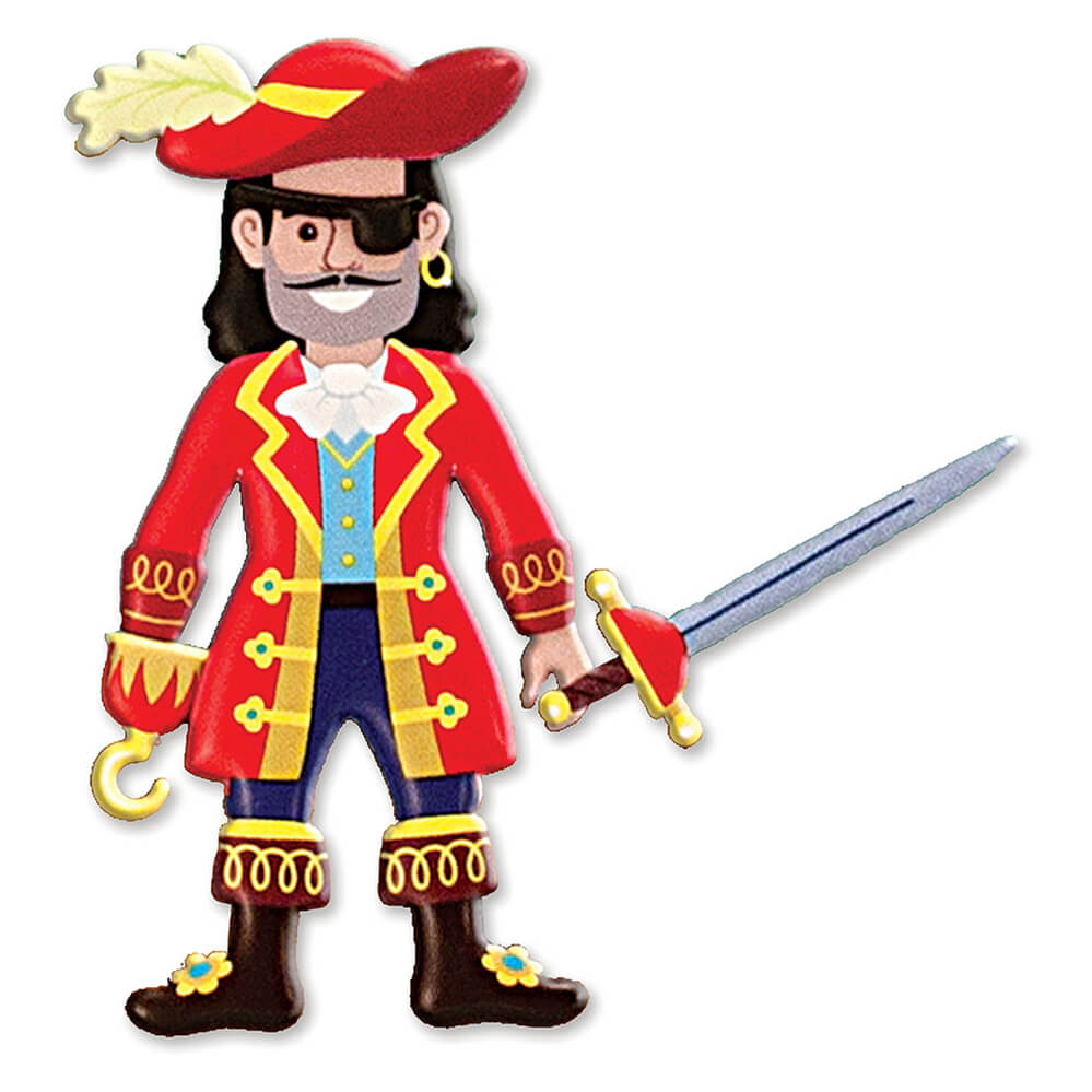 Melissa and Doug Puffy Stickers Pirate