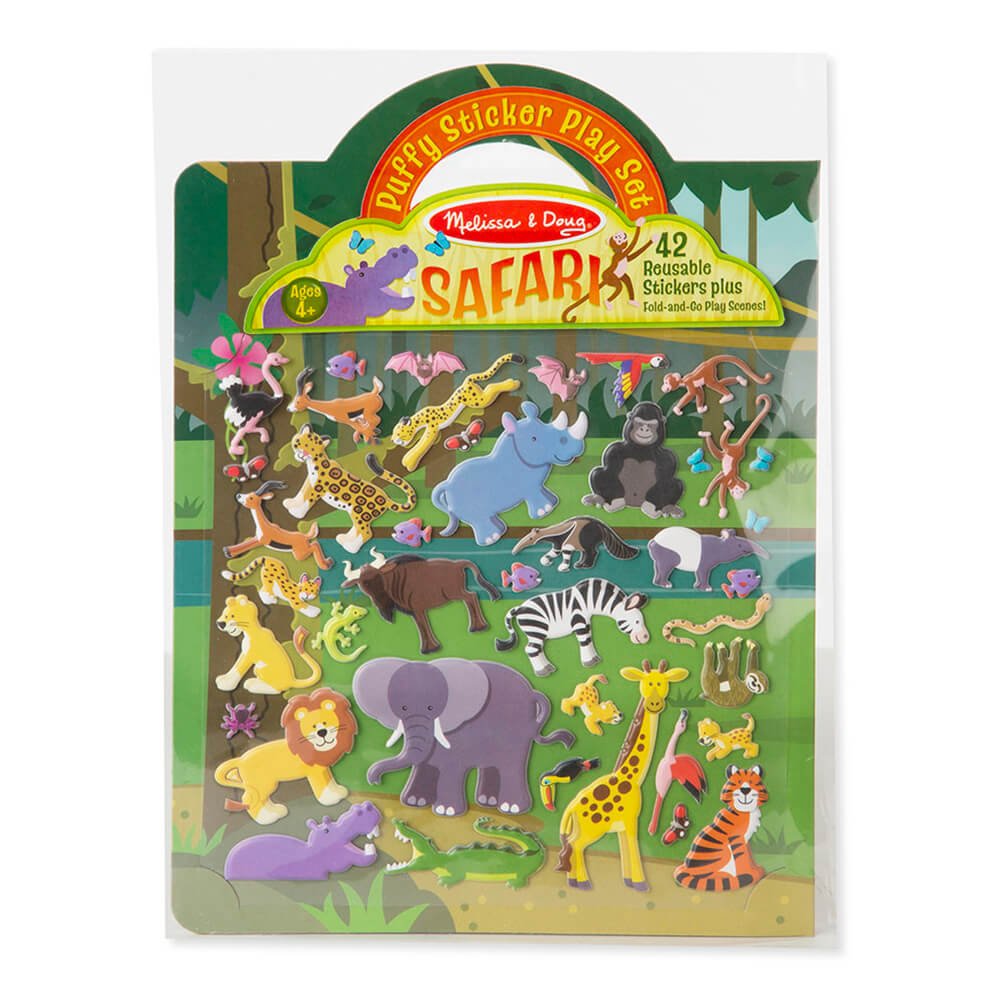 Melissa and Doug Puffy Stickers Safari