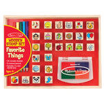 Melissa and Doug Favourite Objects Stamp Set