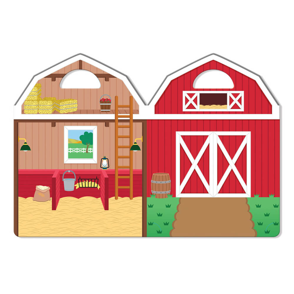 Melissa and Doug Puffy Stickers On the Farm
