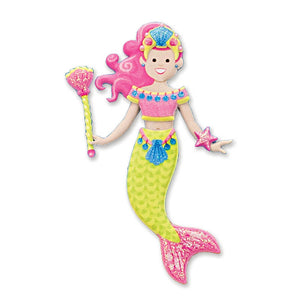 Melissa and Doug Puffy Stickers Mermaid
