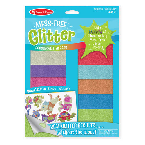 Melissa and Doug Booster Pack Mess Free Glitter
