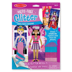 Melissa and Doug Fancy Party Fashions Mess Free Glitter