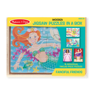 Melissa and Doug Fanciful Friends Puzzle in a Box