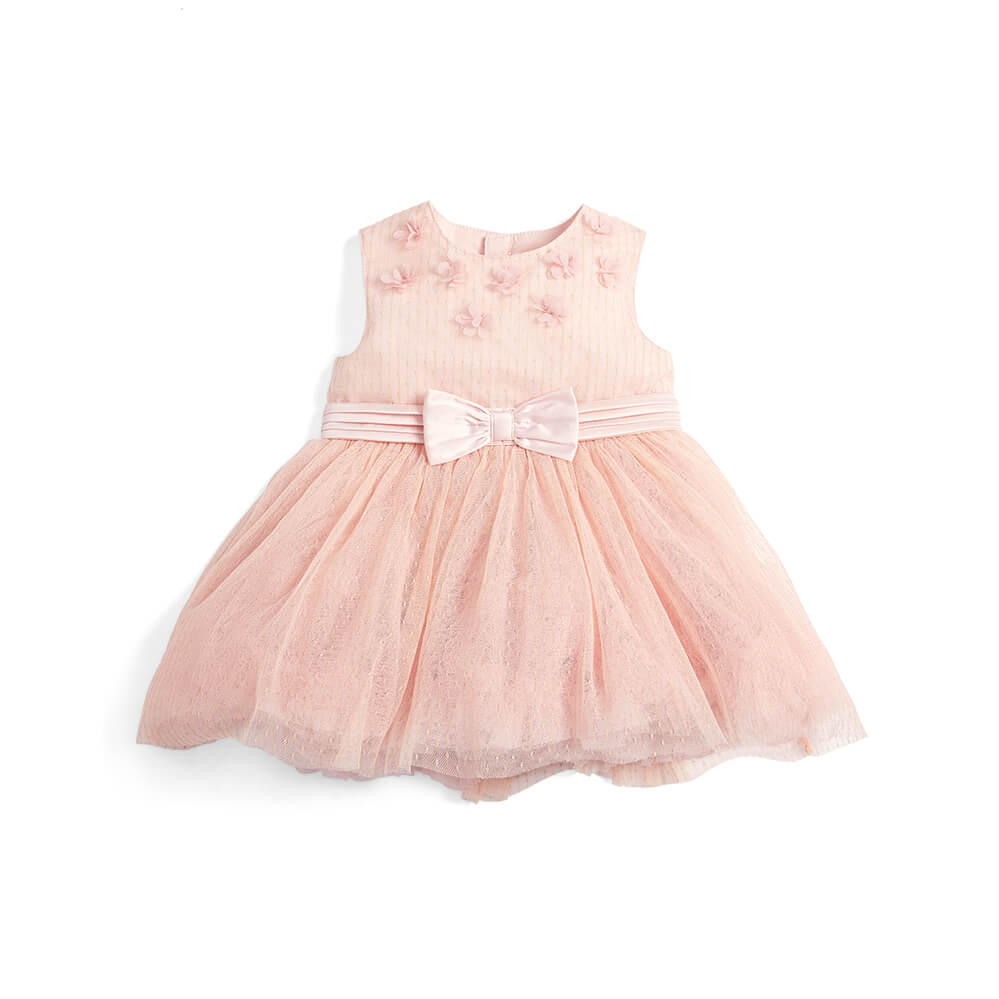 Mamas and Papas Pink Frill Dress