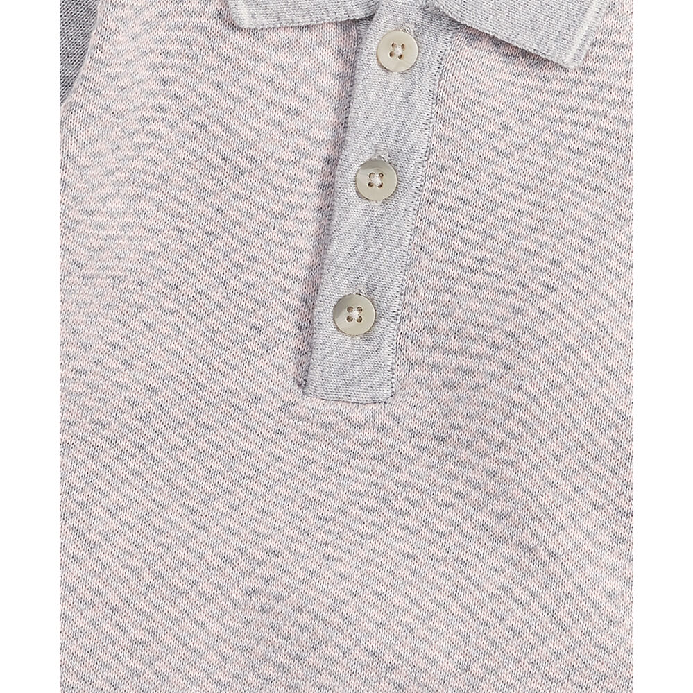 Mamas and Papas Knit Polo Shirt