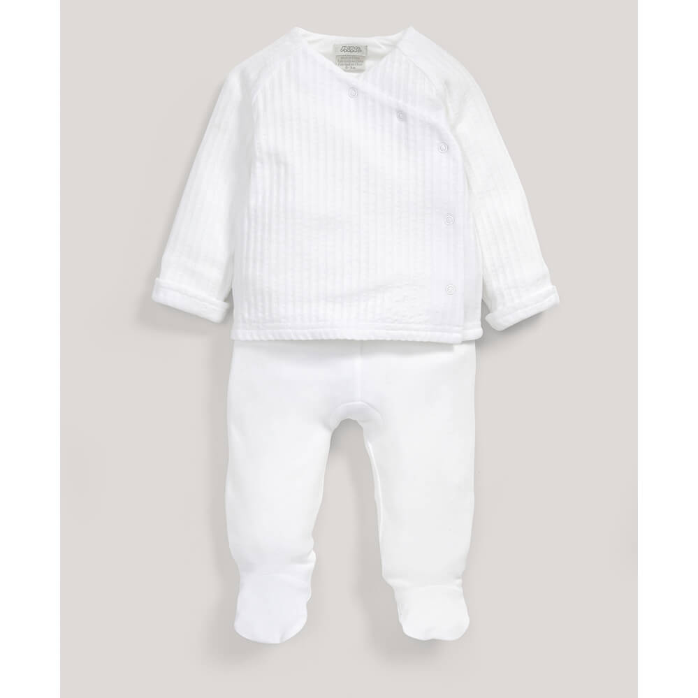 Mamas and Papas Supima Wrap Set 2pc