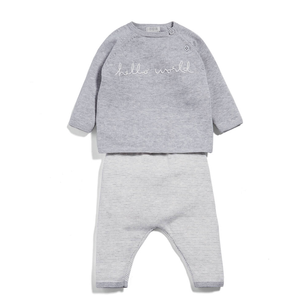 Mamas and Papas Hello World - 2 Piece Set