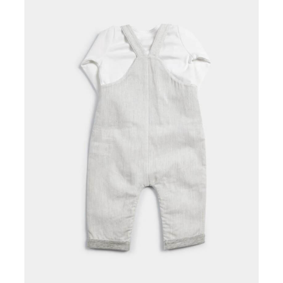 Mamas and Papas Dungaree & Top Set - 2 Piece Set