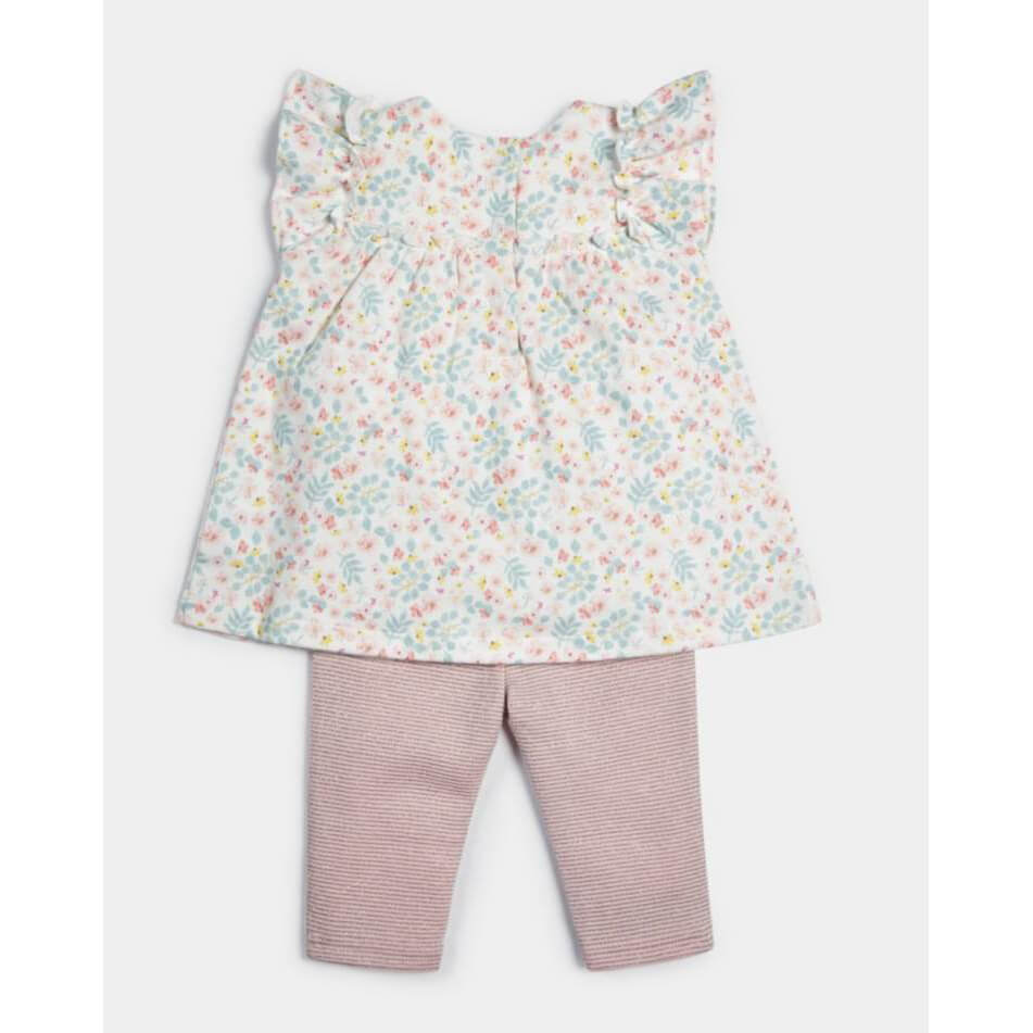 Mamas and Papas Frill Top & Leggings - 2 Piece Set