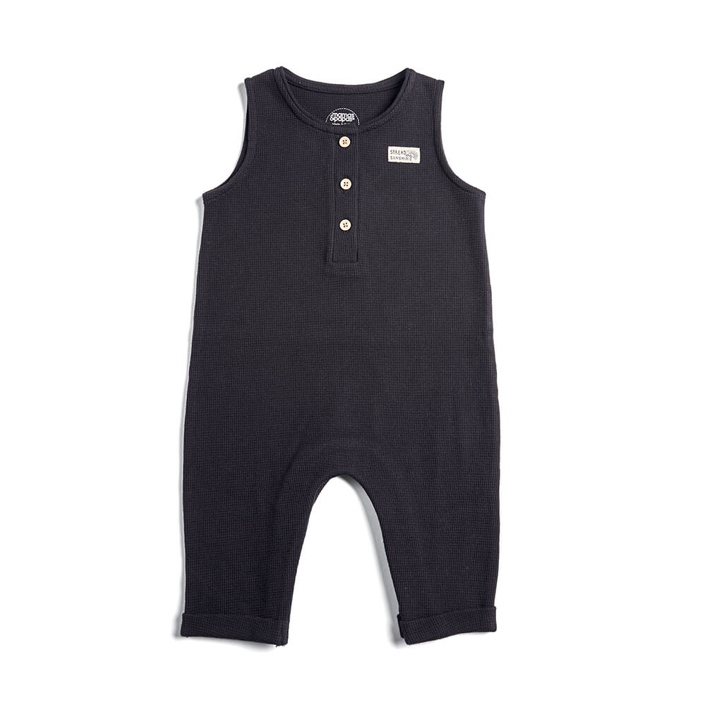 Mamas and Papas Cloud Bodysuit with Dungarees - 2 Piece Set