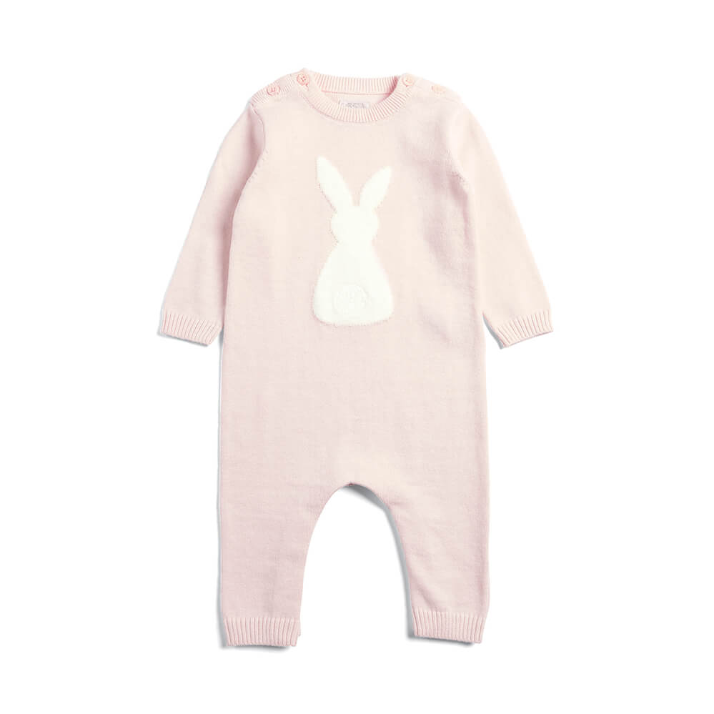 Mamas and Papas Bunny Knitted Romper