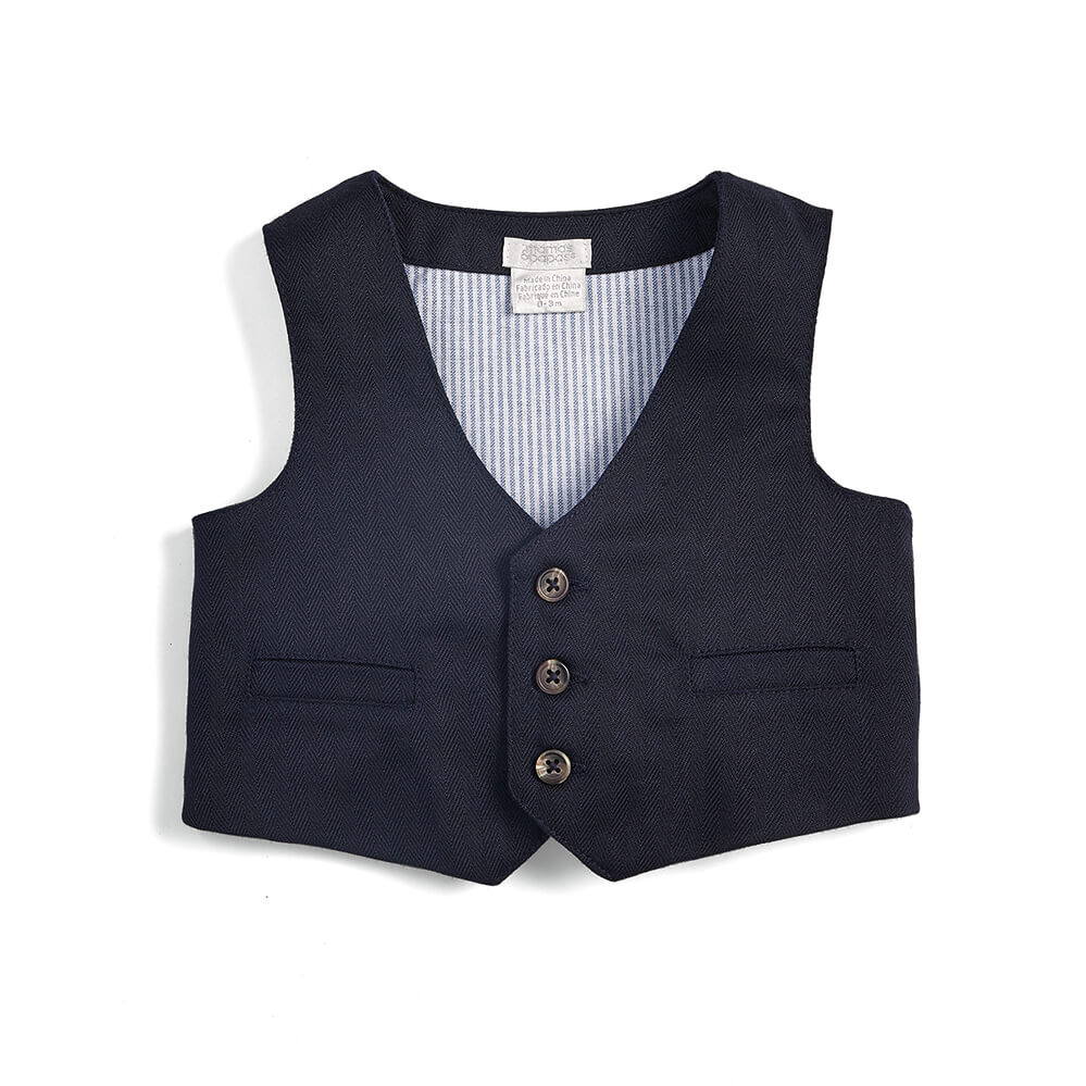 Mamas and Papas Shirt, Tie & Waistcoat 3PC Set