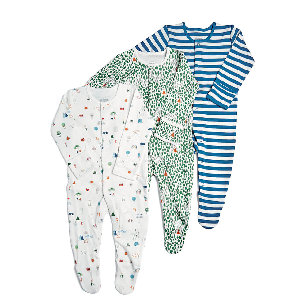 Mamas and Papas Camping All in Ones 3 Pack