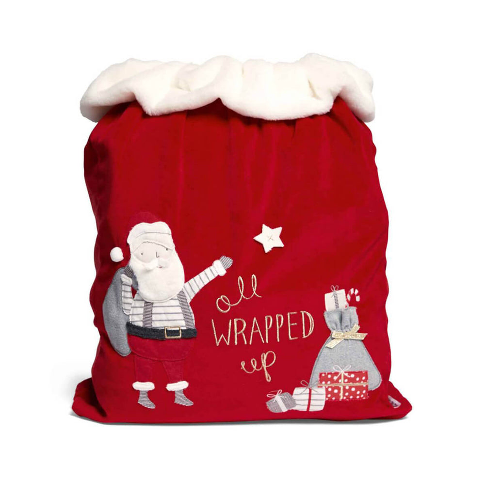 Mamas and Papas Christmas Toy Sack Santa