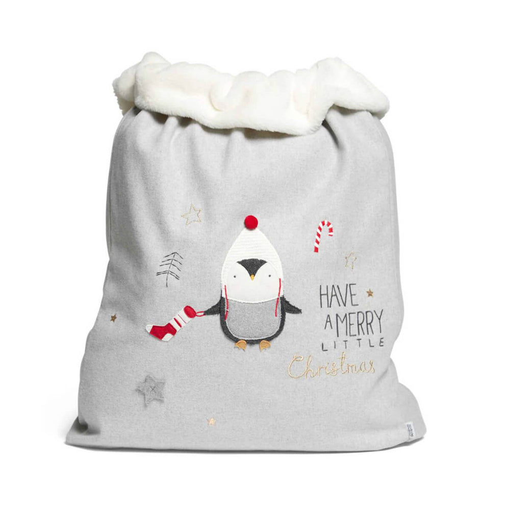 Mamas and Papas Christmas Toy Sack Penguin