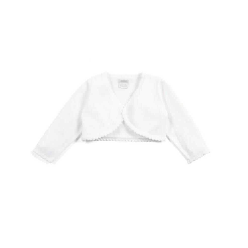 Mamas and Papas White Cardi