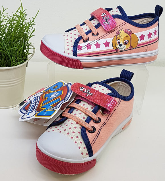 Zapatillas con luces led patrulla canina tallas 24 a 31
