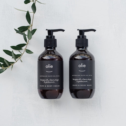 Olieve & Olie - Hand & Body cream 500ml Pump