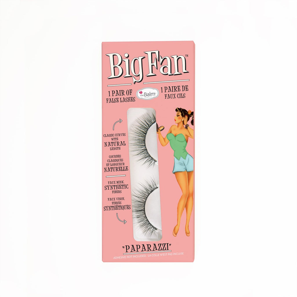 The Balm Big Fan™ Paparazzi Single Pair of False Lashes ذا بالم رموش ثلاثية الابعاد