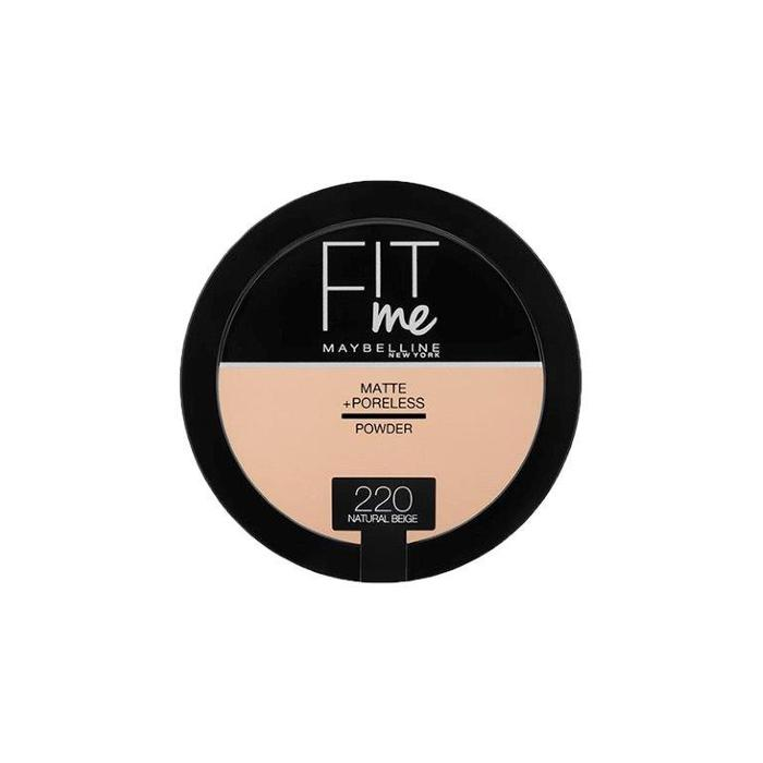Maybelline Fit Me Matte + Poreless Powder ميبيلين باودر مضغوط مات