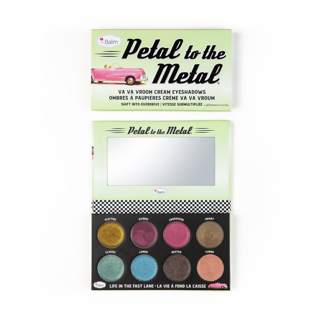 The Balm Petal to the Metal Cream Eyeshadow Palettes ذا بالم باليت اي شادو