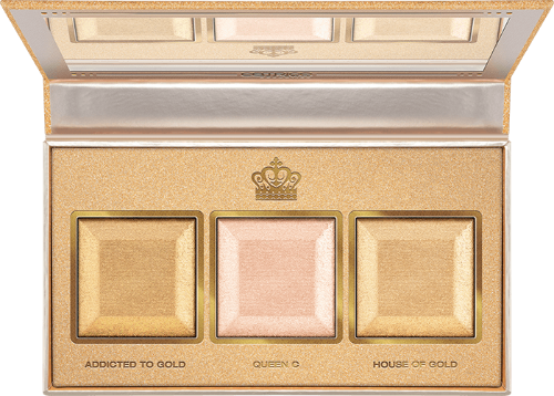 Catrice Better Than Gold Baked Highlighter Palette كاتريس باليت هايلايتر