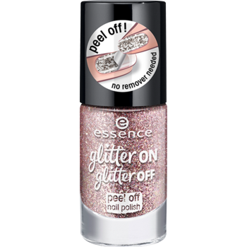 Essence Glitter on Glitter Off Peel Off Nail Polish طلاء اظافر كلتر