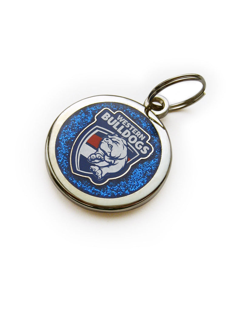 AFL Western Bulldogs Dog / Pet Tag