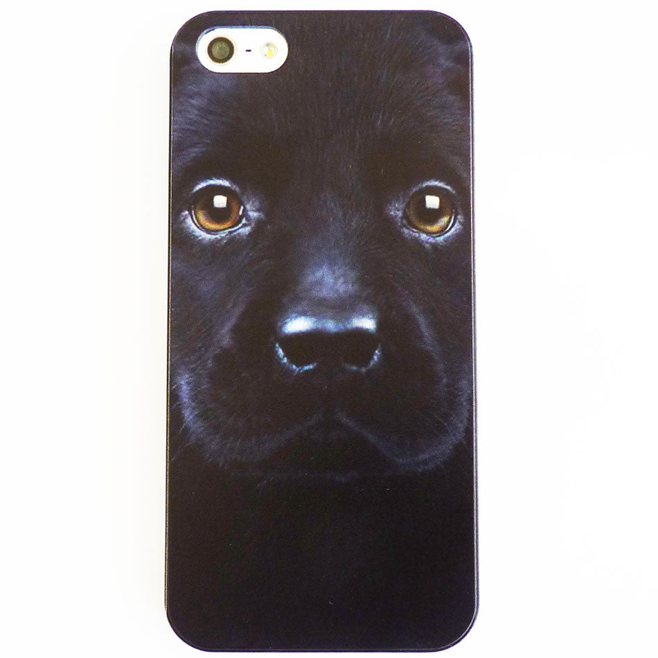 Black Labrador Puppy Case / Cover iPhone 5 & 5S