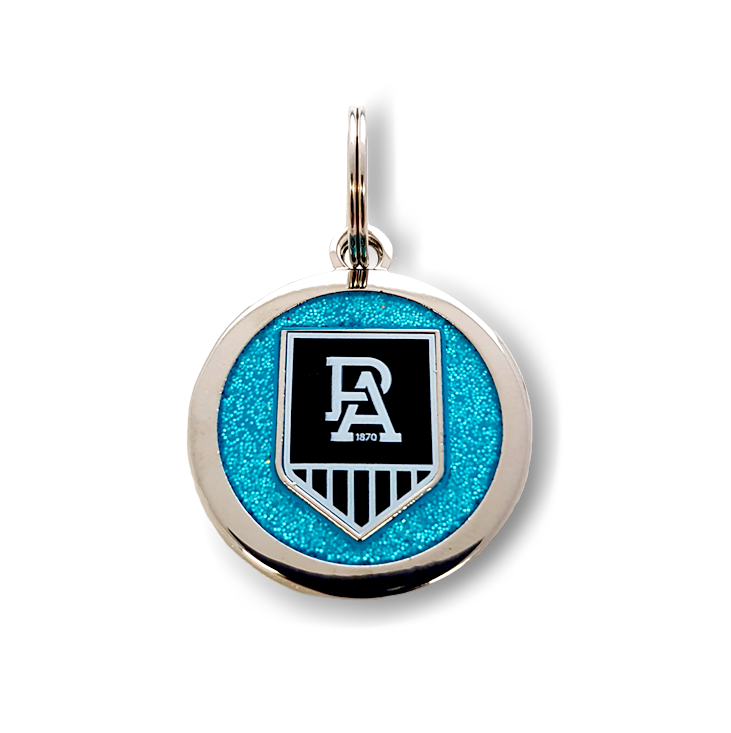 AFL Port Adelaide Power Dog / Pet Tag